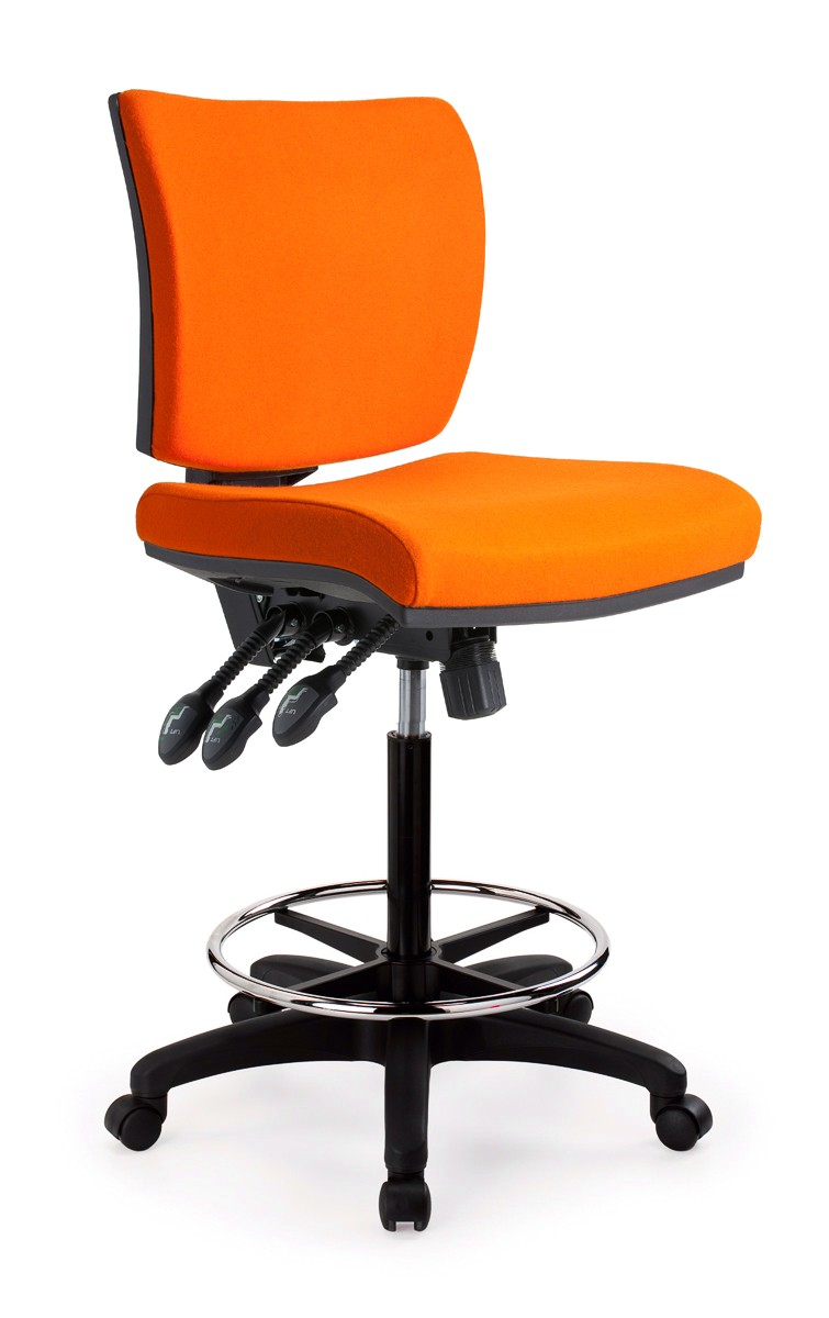 Apollo Task Drafting Chair Office Furniture Desk Chairs