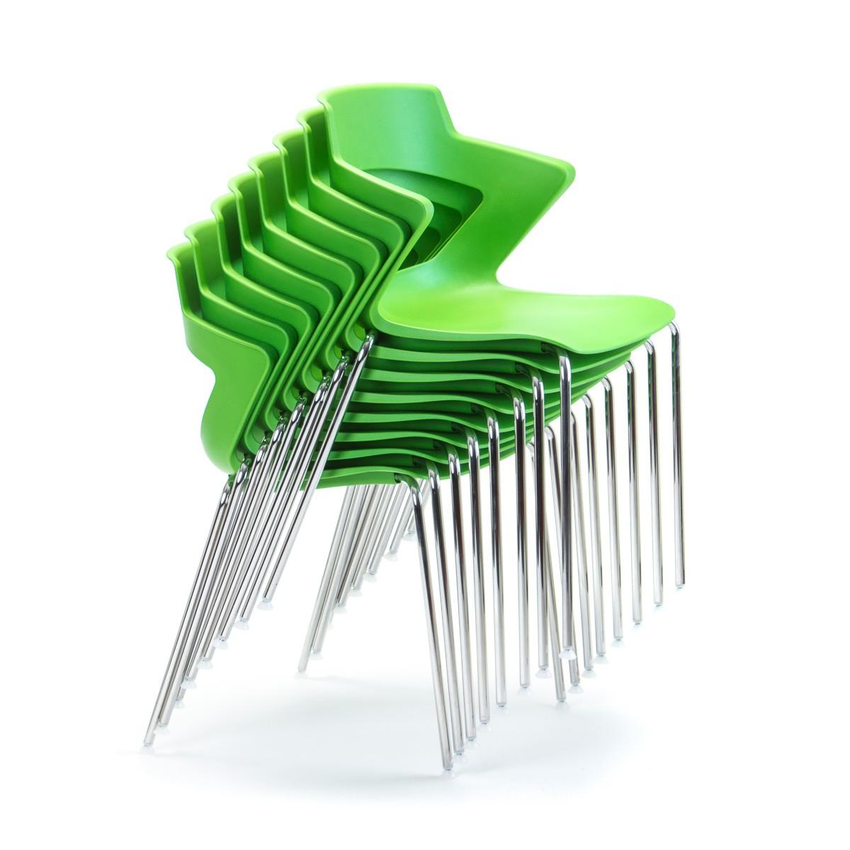 Zen 4 Leg Office Furniture Desk Chairs Task Seating