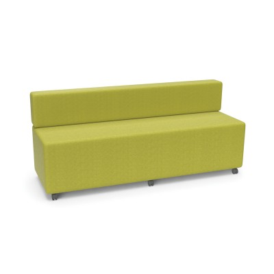 Flow Straight With Back: Modular Soft Seating